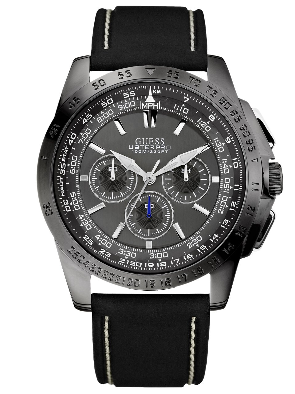 GUESS Euro-Cool Waterpro Chronograph Watch