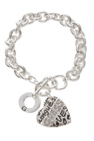 Graffiti GUESS Heart Bracelet