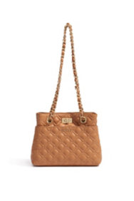 Mini Quilted Leather Tote