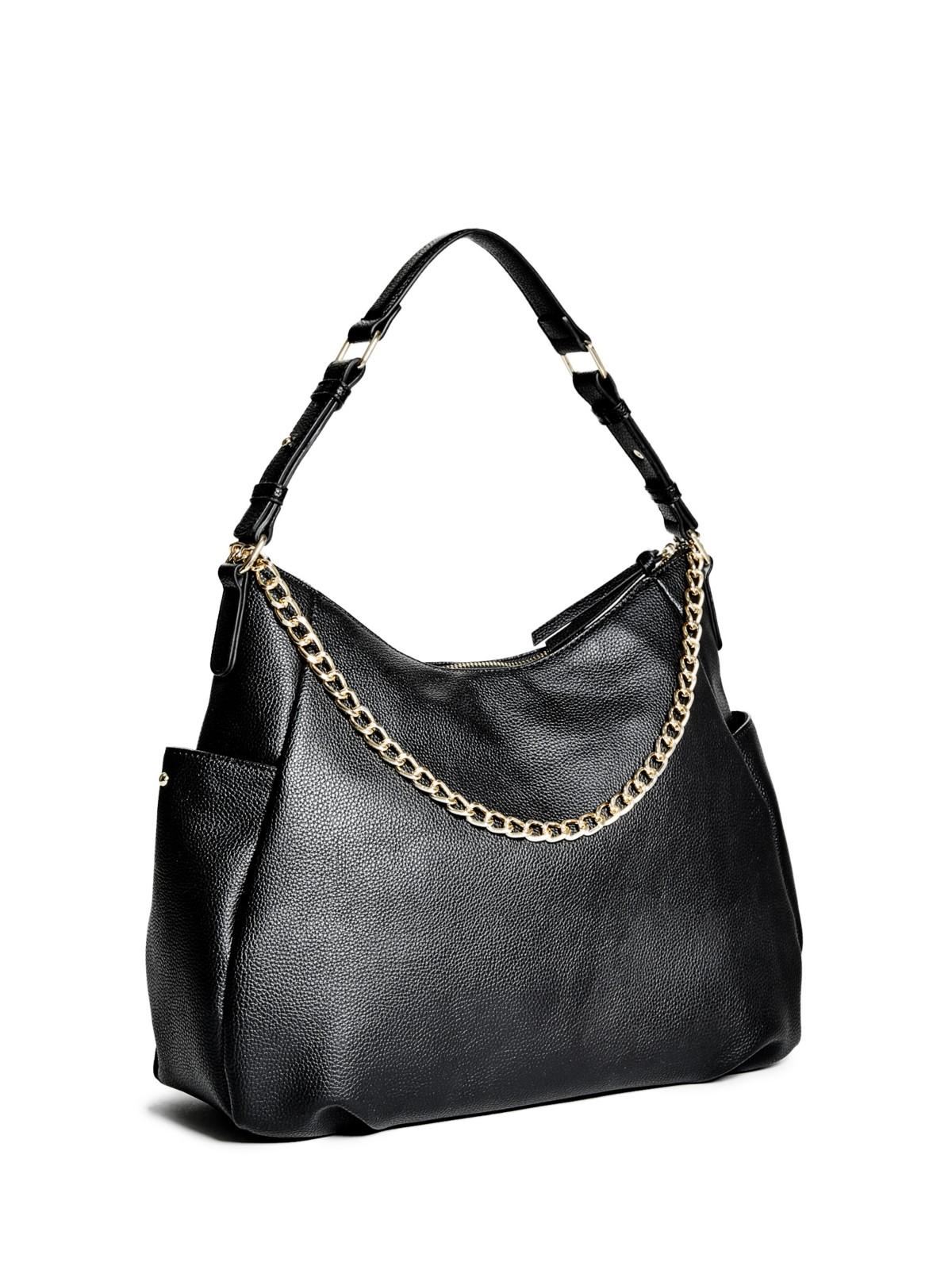 GUESS Women's Genevia Zipper Hobo Bag | eBay
