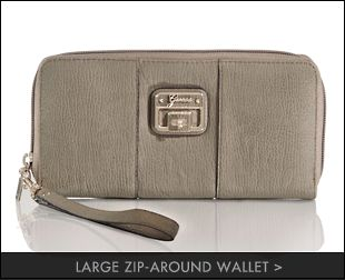 large zip-around wallet