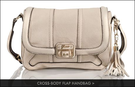 cross-body flap handbag