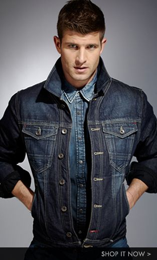 Mens Denim Look Book - Denim loves Denim