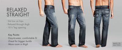 Guess Men Guess Desmond Denim Jeans Mens