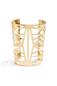 The Festival Collection - Gold-Tone Web Cuff Bracelet