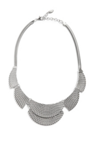 Textured Plate Necklace