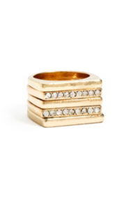 Five-Piece Gold-Tone Stacking Ring Set