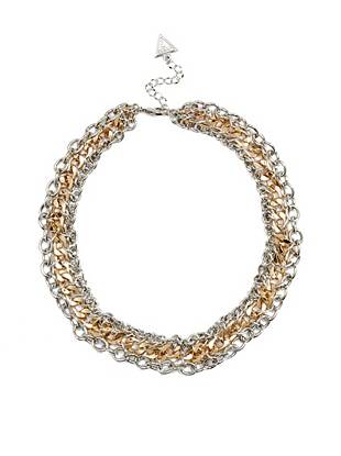 Melina Two-Tone Necklace