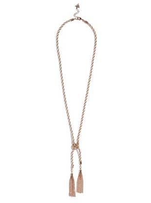Selina Rose Gold-Tone Y Necklace
