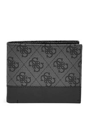 Our iconic 4-G logo print and an organized design make this wallet ideal for the guy on the go.