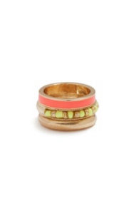 Neon Stacking Ring Set