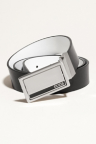 Four-Way Reversible Enamel Plaque Belt