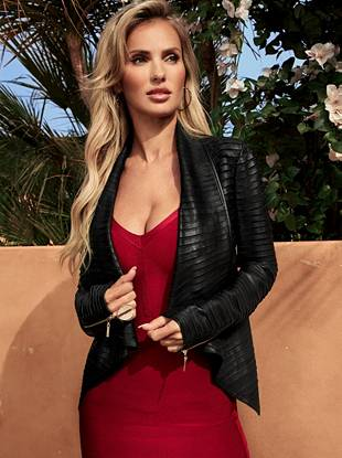 Shayna Leather Jacket