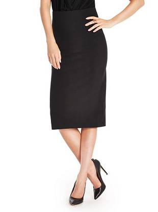 Julie Farrow Ponte Pencil Skirt
