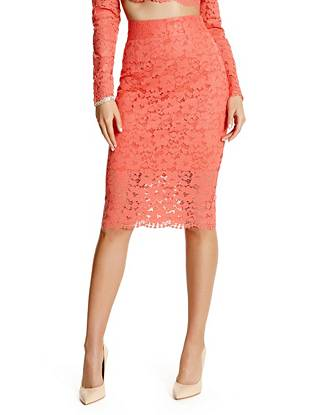 Piya Lace Pencil Skirt