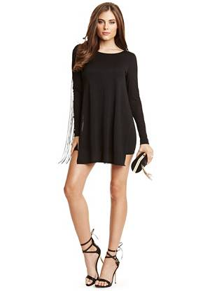 Nadia Fringe Tunic Dress