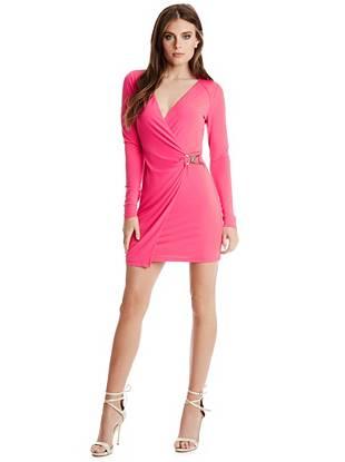 Club Dresses - Lettie Wrap Dress