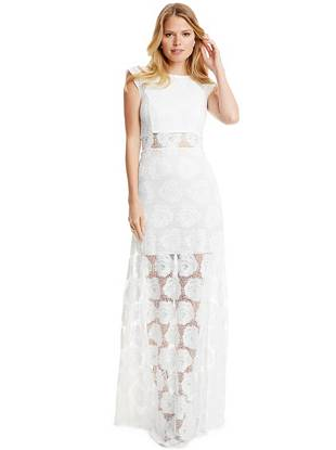 Maxi Winter Dresses - Maggie Lace Maxi Dress