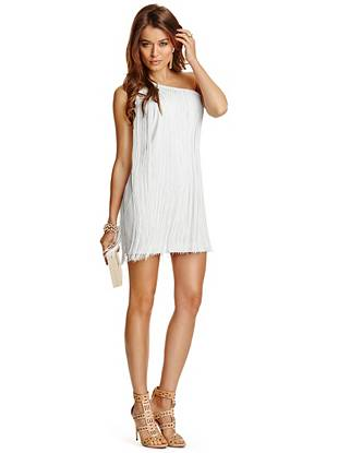 Club Dresses - Kamara Fringe Dress
