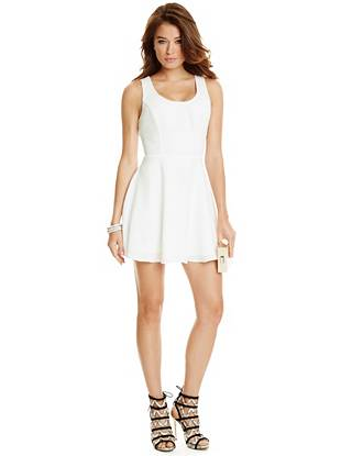 Delaney Fit-and-Flare Dress
