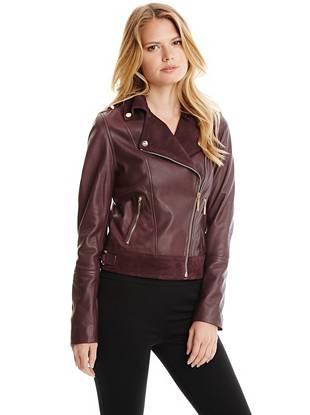 Leather Jackets - Litzy Leather Jacket