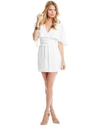 Club Dresses - Alisha Cape Dress