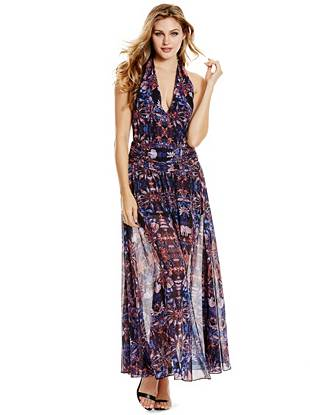 Maxi Winter Dresses - Bohemian Rhapsody Maxi Dress