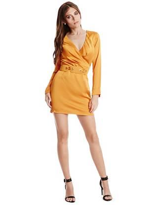 Club Dresses - Wild Streak Solid Dress