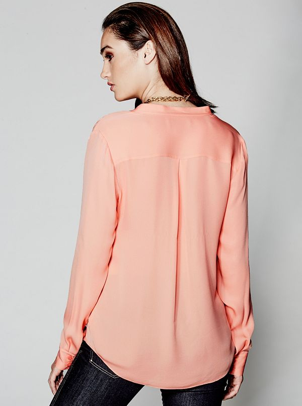 Mariella Silk Blouse | GUESS by Marciano