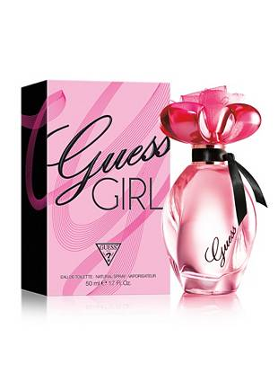GUESS Girl Eau De Toilette, 1.7 Oz  Exciting, bold, sexy, playful—you're guaranteed to get noticed when you enter the room wearing our newest fragrance. With a burst of vibrant fruits and rare flowers, GUESS Girl teases the senses, leaving an irresistible and unforgettable impression. •	Top notes: Raspberry Nectar, Melon, Bergamot Mist •	Mid notes: Brazilian Paradise Orchid, Provence Acacia Flower, Lily •	Dry-down: Skin Musk, Natural Australian Sandalwood, Madagascar Bourbon Vanilla •	1.7 fl. oz. All orders containing a fragrance purchase will be shipped via ground shipping.