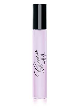 Flirty, daring and oh-so-sexy—GUESS Girl Belle is a new twist on your favorite fragrance. Hints of pink champagne, delicious apple and mixed berries join to create an intriguing fruity floral scent with seductive impact. Store this convenient rollerball in your everyday bag or travel kit to stay irresistible on the go.       • Top notes: pink champagne, golden delicious apple, mixed berries • Middle notes: pink peony, natural jasmine sambac, violet • Bottom notes: Australian sandalwood, musk, vanilla • 0.3 fl. oz.   All orders containing a fragrance purchase will be shipped via grou