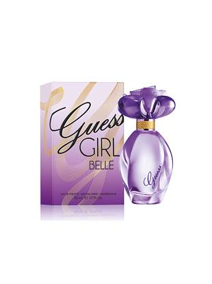 Flirty, daring and oh-so-sexy—GUESS Girl Belle is a new twist on your favorite fragrance.  Hints of pink champagne, delicious apple and mixed berries join to create an intriguing fruity floral scent with seductive impact.       • Top notes: pink champagne, golden delicious apple, mixed berries • Middle notes: pink peony, natural jasmine sambac, violet • Bottom notes: Australian sandalwood, musk, vanilla  • 1.7 fl. oz.    All orders containing a fragrance purchase will be shipped via ground shipping.