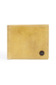 Yellow Arapahoe Passcase Wallet