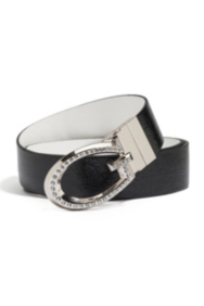 Reversible Black-White Belt
