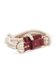 Nautical Rope Belt