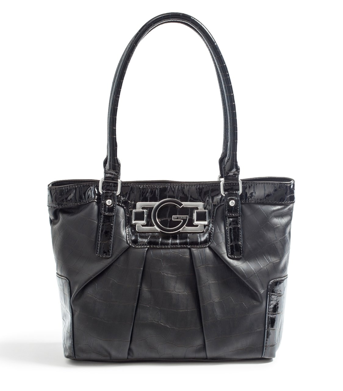 G by GUESS Gana Tote, BLACK
