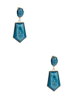 Mia Turquoise-Stone Earrings