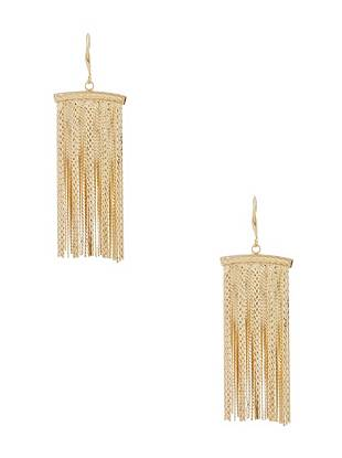Julie Gold-Tone Tassel Earrings