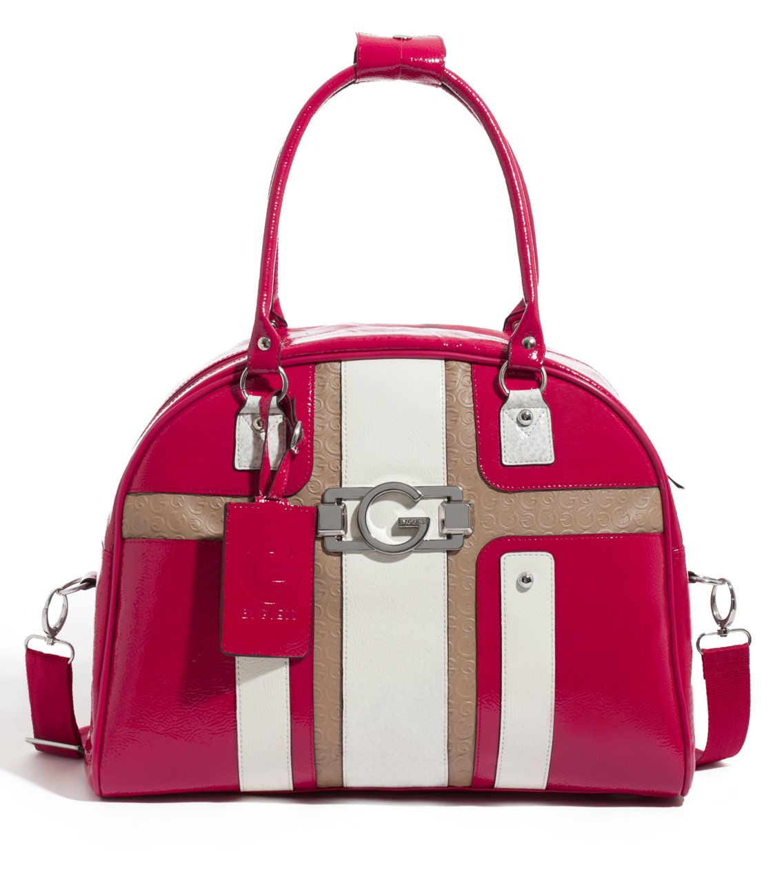 G by GUESS Jelina Dome Satchel, STONE MULTI