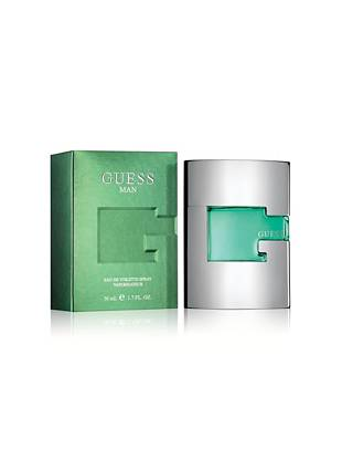 Masculine, bold, sexy and simply intoxicating. Inspired by the GUESS Man lifestyle, this fragrance is fresh, clean and sensual. Attitude like never before in a bottle.   1.7 oz eau de toilette spray   *All orders containing a fragrance purchase will be shipped via ground shipping