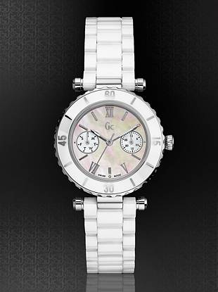 Gc Swiss Watches - GC DIVER CHIC White Ceramic Timepiece