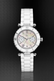 GC DIVER CHIC White Ceramic Timepiece