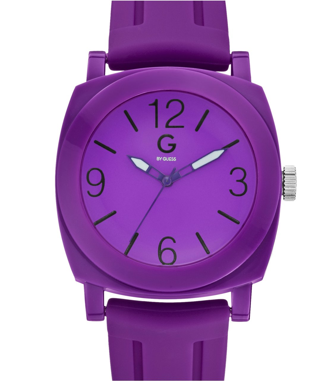 G by GUESS Purple Sport Strap Watch