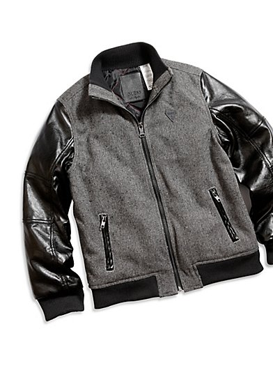 Boys Leather Jacket | Youth Boys Leather Jackets Boys Black ...