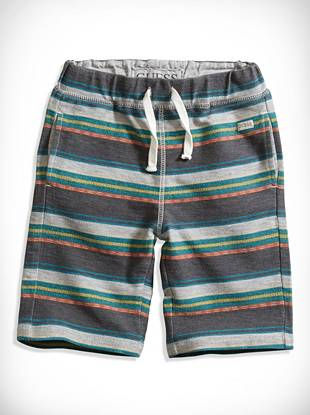 Guesskids Little Boy Striped Sweatshorts (2-7)
