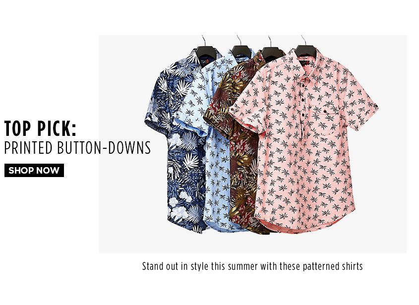Printed Button-Downs