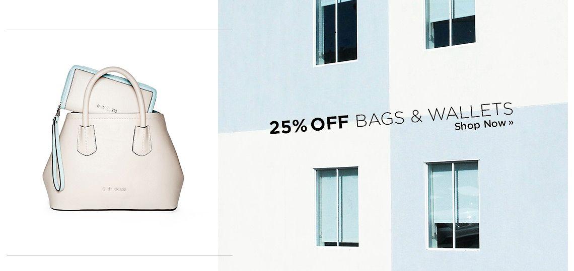 Handbags 25% Off