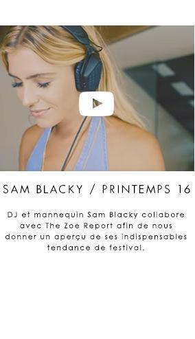 GUESS x The Zoe Report: Festival Fashion w/ DJ Sam Blacky