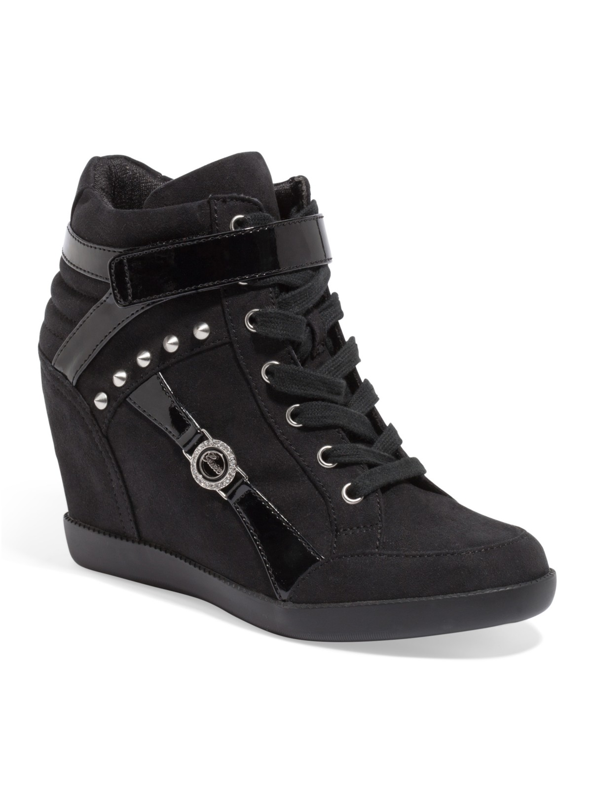 guess stars wedge sneakers ebay