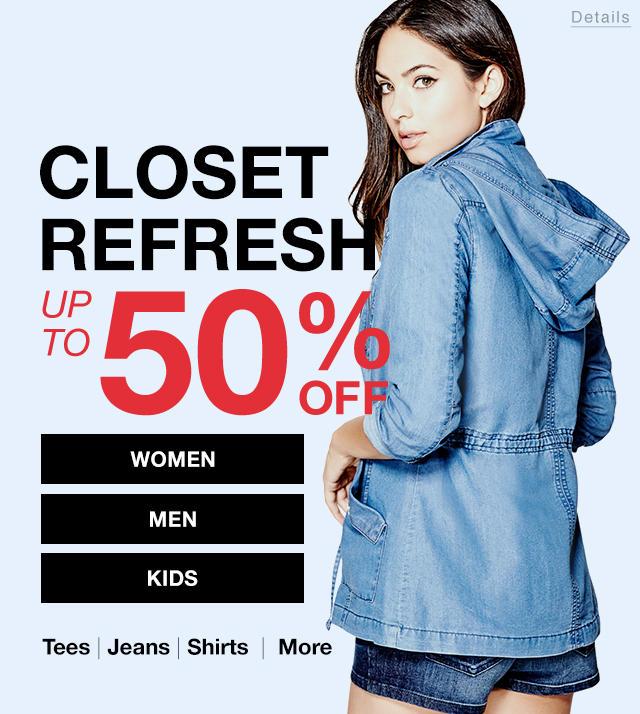 Closet Refresh